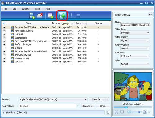 Xilisoft Apple TV Video Converter