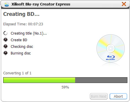 Xilisoft Blu-ray Creator Express Tutorial