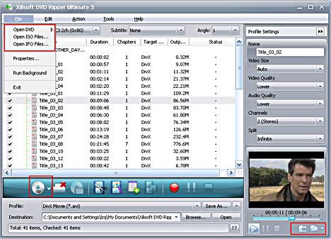 DVD Converter, convert DVD to MPEG