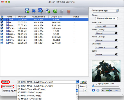 Convert HD videos to SD on Mac, Mac convert HD videos to SD, HD video converter on Mac