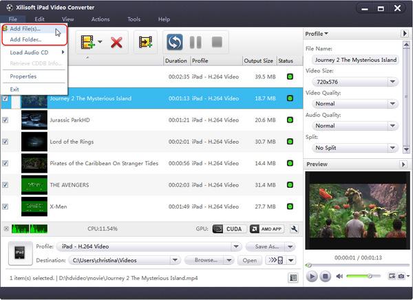 Xilisoft iPad Video Converter