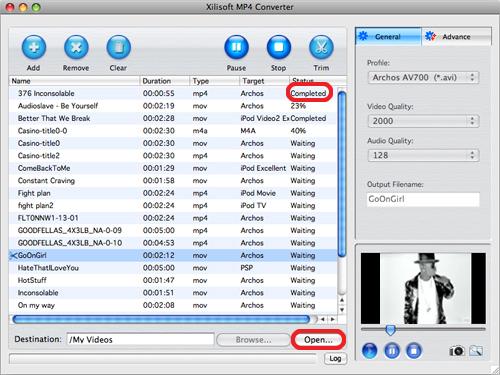 Xilisoft MP4 Converter for Mac