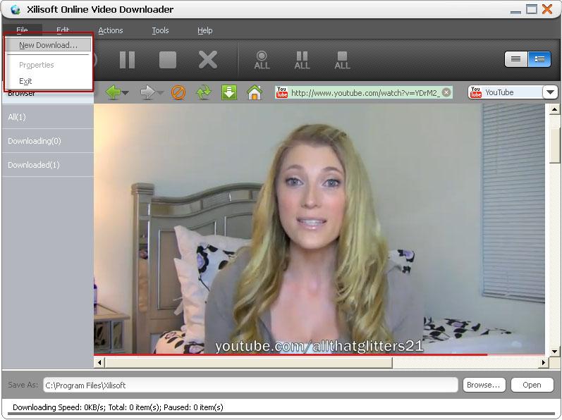 Xilisoft Online Video Downloader Tutorial How To
