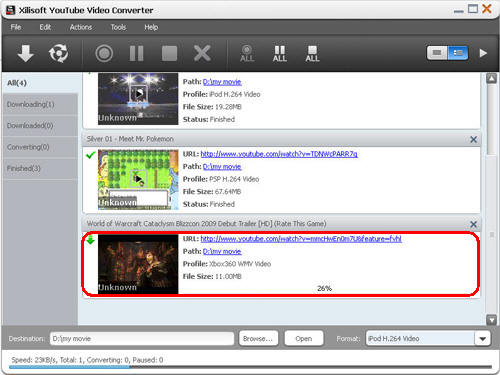 Download YouTube video, YouTube video converter, Convert YouTube video to Xbox