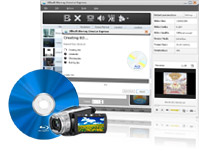 Blu-ray Creator Express, Burn videos to Blu-ray discs