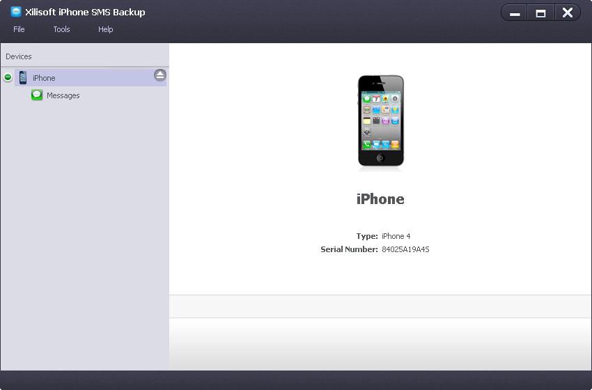 iPhone SMS Backup