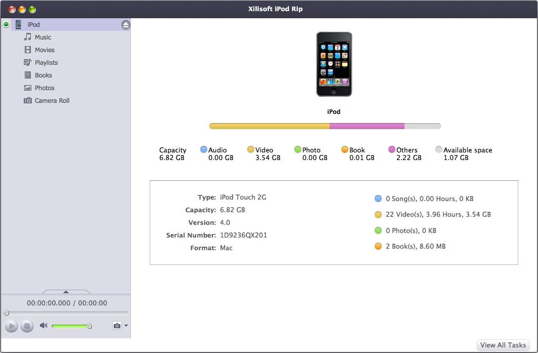 Xilisoft iPod Rip for Mac