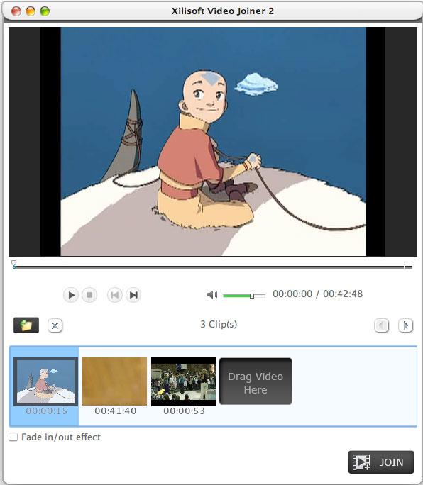 Xilisoft Video Editor 2 for Mac