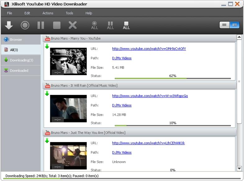 Xilisoft youtube hd video downloader v4.2.1 build 20170713 with keys